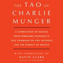 Tao of Charlie Munger by David Clark audiobook