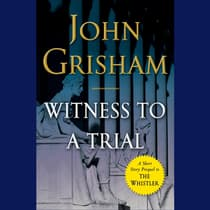 Witness to a Trial by John Grisham audiobook