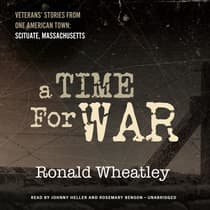 A Time for War by Ronald B. Wheatley audiobook
