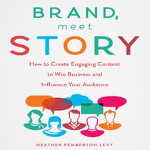 Brand, Meet Story by Heather Pemberton Levy audiobook