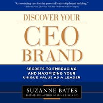 Discover Your CEO Brand by Suzanne Bates audiobook