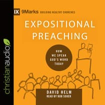 Expositional Preaching by David R. Helm audiobook