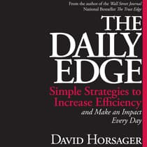 The Daily Edge by David Horsager audiobook