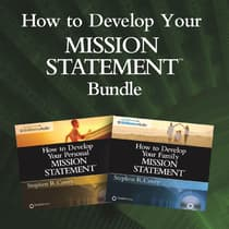 How to Develop Your Mission Statements Bundle by Stephen R. Covey audiobook