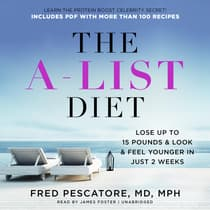 The A-List Diet by Fred Pescatore audiobook