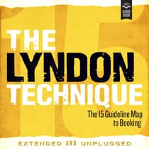 The Lyndon Technique: The 15 Guideline Map To Booking Extended and Unplugged by Amy Lyndon audiobook