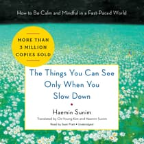 The Things You Can See Only When You Slow Down by Haemin Sunim audiobook