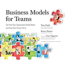 Business Models for Teams by Tim Clark audiobook