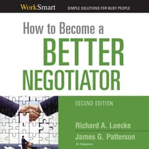 How to Become a Better Negotiator by Richard A. Luecke audiobook