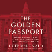 The Golden Passport by Duff McDonald audiobook
