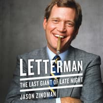Letterman by Jason Zinoman audiobook