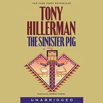 The Sinister Pig by Tony Hillerman audiobook