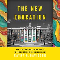 The New Education by Cathy N. Davidson audiobook