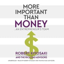 More Important Than Money by Robert Kiyosaki audiobook