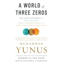 A World of Three Zeros by Muhammad Yunus audiobook