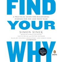 Find Your Why by Simon Sinek audiobook