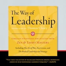 The Way of Leadership by Thomas Cleary audiobook