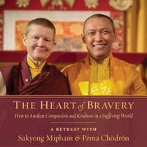 The Heart of Bravery by Pema Chödrön audiobook