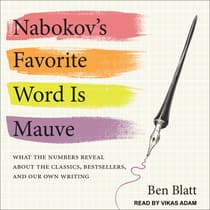 Nabokov's Favorite Word Is Mauve by Ben Blatt audiobook