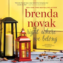 Right Where We Belong by Brenda Novak audiobook