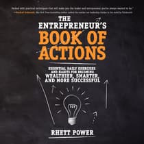 The Entrepreneur's Book of Actions by Rhett Power audiobook