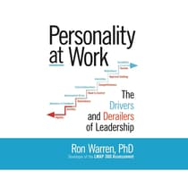 Personality at Work by Ronald Warren audiobook