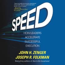 Speed by John H. Zenger audiobook