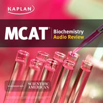 Kaplan MCAT Biochemistry Audio Review by Jeffrey Koetje audiobook