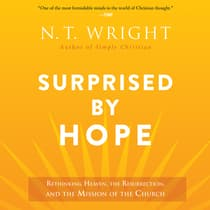 Surprised by Hope by N. T. Wright audiobook