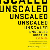 Unscaled by Hemant Taneja audiobook