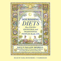 Nourishing Diets by Sally Fallon Morell audiobook