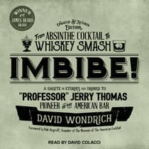 Imbibe! Updated and Revised Edition by David Wondrich audiobook
