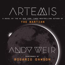 Artemis by Andy Weir audiobook