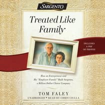 Treated  like Family by Tom Faley audiobook