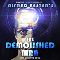 The Demolished Man by Alfred Bester audiobook