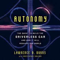 Autonomy by Lawrence D. Burns audiobook