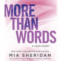 More Than Words by Mia Sheridan audiobook