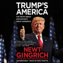 Trump's America by Newt Gingrich audiobook