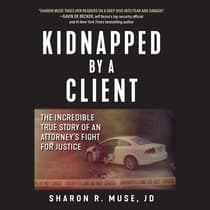 Kidnapped by a Client by Sharon R. Muse audiobook