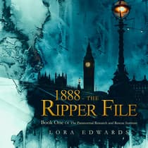 1888-The Ripper File by Lora Edwards audiobook