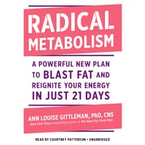 Radical Metabolism by Ann Louise Gittleman audiobook