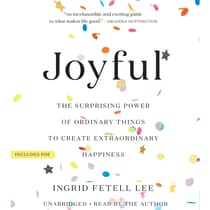 Joyful by Ingrid Fetell Lee audiobook