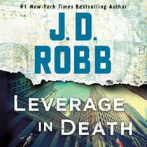 Leverage in Death by J. D. Robb audiobook