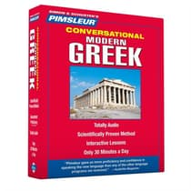 Pimsleur Greek (Modern) Conversational Course - Level 1 Lessons 1-16 by Paul Pimsleur audiobook
