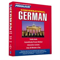 Pimsleur German Conversational Course - Level 1 Lessons 1-16 by Paul Pimsleur audiobook