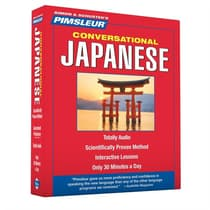 Pimsleur Japanese Conversational Course - Level 1 Lessons 1-16 by Paul Pimsleur audiobook