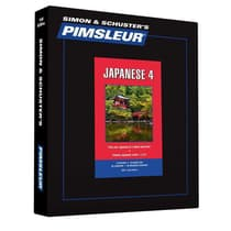 Pimsleur Japanese Level 4 by Paul Pimsleur audiobook