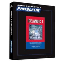 Pimsleur Icelandic Level 1 by Paul Pimsleur audiobook