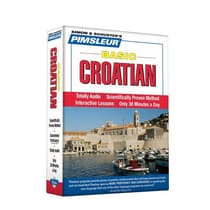 Pimsleur Croatian Basic Course - Level 1 Lessons 1-10 by Paul Pimsleur audiobook
