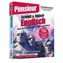 Pimsleur English for German Speakers Quick & Simple Course - Level 1 Lessons 1-8 by Paul Pimsleur audiobook